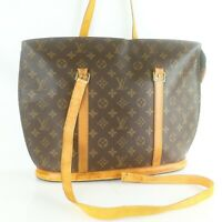 LOUIS VUITTON BABYLONE Tote Bag Shoulder Purse Monogram M51102 JUNK