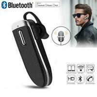 New Wireless Headset Bluetooth Handsfree Stereo Headphones Earpiece In Ear Q1V3