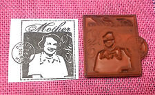 Mother's Day rubber stamp unmounted cling Boston Mass mom art journaling lady