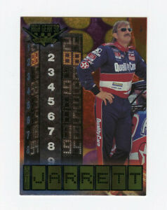 Dale Jarrett 1998 98 Wheels High Gear Top Tier All Etched Foil Insert Card 1:192