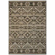 vidaXL Vloerkleed Binnen/Buiten 140x200 cm Sisal Look Geometrisch Kleed Mat