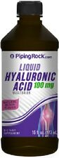 HYALURONIC ACID LIQUID 100MG VEGETARIAN DRINK DIETARY SUPPLEMENT 16 FL OZ 473 ML