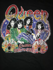 Queen Freddie Mercury Vintage Black TEE Shirt 2005 X Large