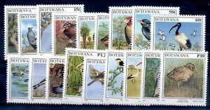 Botswana 1997 birds definitive set fine MNH