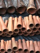 Indian Clay Chillam Chillum Handmade Smoking Pipe Pipes Terracotta Pack Of 5