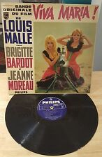 RARE FRENCH LP BRIGITTE BARDOT VIVA MARIA LP RARE DISPLAY SLEEVE COUNTER