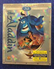 Aladdin (Blu-ray/DVD/Digital HD, 2015; Diamond Ed.) NEW w/ Slipcover - OOP!!
