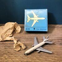 Schuco Douglas DC-10 Pan American Airlines 355 792 Plane Bear Mint ! #1803
