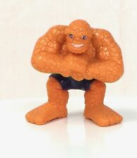 Marvel Super Hero Squad RARE The THING Smashing Fist in Hand from Hulk Wave 2