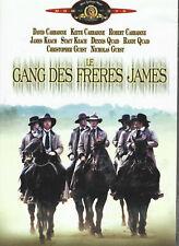 DVD : Le gang des frères James, D Caradine, sage des bandits les + célèbres.1h35