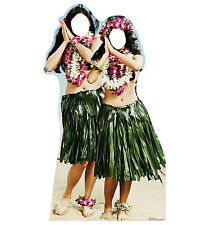HAWAIIAN HULA GIRLS - LIFE SIZE STAND-IN/CUTOUT BRAND NEW - PARTY 1991