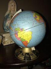 Vintage Ohio Art Zodiac Metal Globe Good Condition