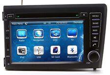 In Dash 2 DIN Car Stereo Radio CD DVD Player GPS Navigation For Volvo S60 / V70