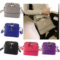 Women Girl Leather Shoulder Bag Tote Purse Handbag Messenger Crossbody Satchel