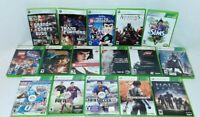Lot Of 16 Microsoft Xbox 360 Video Games No Manuals GTA 4, Forza, Halo And More