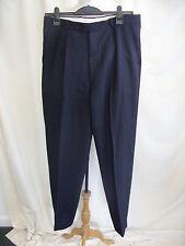 """Mens Trousers Pierre Cardin navy waist 34"""" inside leg 32"""" pure wool 0254"""