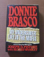 DONNIE BRASCO by Joseph Pistone - 1st/2nd HCDJ 1987 NAL - FBI mafia film movie