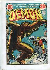 THE DEMON #6 - THE HOWLER ch 1 (6.0) 1973