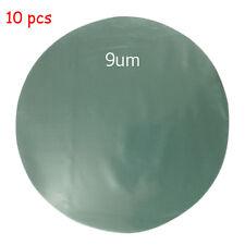 "10pcs/lot 127MM 5"" Disk Type Diamond Lapping Film 9um Diamond Polishing Film"