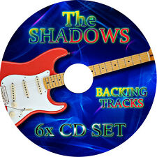 THE SHADOWS GUITAR BACKING TRACKS 6 x CD SET GREATEST HITS BEST OF HANK MARVIN