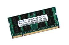 2gb ddr2 memoria RAM Toshiba Portege m400 m700 m800