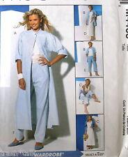Wardrobe pattern EASY sz 10 - 16 duster capris sundress