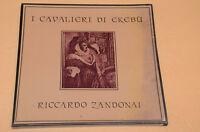 RICCARDO ZANDONAI BOX 2LP I CAVALIERI DI EKEBU ORIG ITALY SIGILLATO SEALED !!!