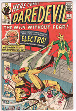 DAREDEVIL NO. 2- ELECTRO, guest FANTASTIC FOUR BEAUTIFUL, ONE OWNER MARVEL