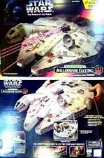 Star Wars Han Solo Millennium Falcon Electronic Vehicle Playset New from 1995
