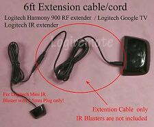 Extension cable/cord 4 Logitech Mini IR Blaster,harmony 900RF extender,Google TV