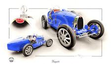 Bugatti OMAGGIO Christopher DUGAN stampa tipo 36 40 51 64 29 18 23 55 101 252 2