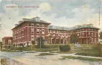Winona Lake Indiana~Westminster Hotel~Dirt Road~1910 Postcard