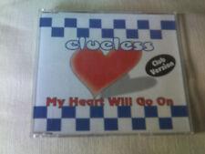 CLUELESS - MY HEART WILL GO ON - 5 MIX DANCE CD SINGLE