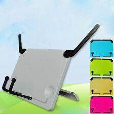 Adjustable Folding Desktop Sheet Music Stand Holder Home Book Reading Stand Pop