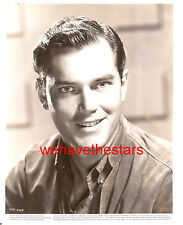 Vintage Jeffrey Hunter QUITE HANDSOME SEXY EYES 50s Publicity Portrait