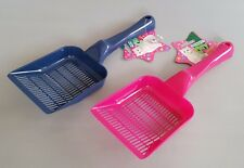 Plastic Cat Dog Scoop With Holes To Filter Out Litter Poop Shovel Home Toilet