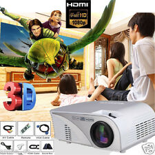 6000Lumens LED Home MulitMedia Theater Cinema Mini Projector For Android System