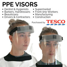 PPE Visor Face Guard Shield - Barbers, Hairdressers, Beauticians - Made in UK