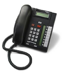 Nortel Norstar T7208 Charcoal 8 Button Display Speaker Telephone NT8B26AABA #A