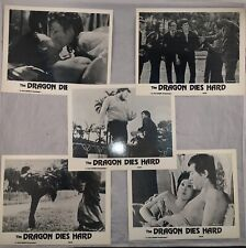 Bruce Lee Vintage Photos The Dragon Never Dies 1975 Pressbook 5 10x8 Glossy