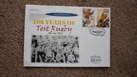 AUSTRALIAN FDC ALPHA STAMP ISSUE FIRST DAY COVER, 1999 100 YEARS OF TEST RUGBY 1