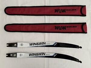 Win & Win WINEX Recurve Bow Limbs - ILF Fitting - Short - 34lbs