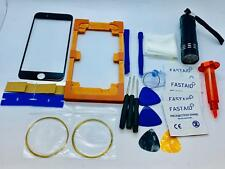 Front Glass, Screen Repair Kit for iPhone 6 Black, Loca Glue, Uv Torch, Mould