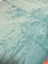 "New - Plush Super Warm Home Fleece Throw Blanket 50""x60"" Blue"