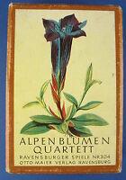 Quartett - Alpenblumen - Ravensburger Spiele - Nr. 304 - Blumen - Otto Maier