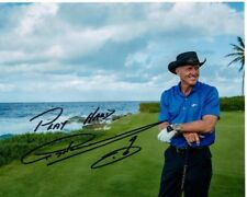 GREG NORMAN Signed PGA GOLF Photo w/ Hologram COA