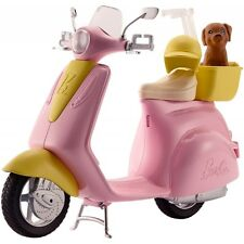 Barbie Scooter and Puppy DVX56 Moped