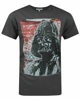 Junk Food Star Wars Vader Graffiti Men's T-Shirt