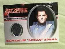 Battlestar Galactica Premiere Costume Card CC7 Lee Apollo Adama