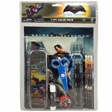 Dc Comics Batman Vs Superman 11 pc Stationery Set